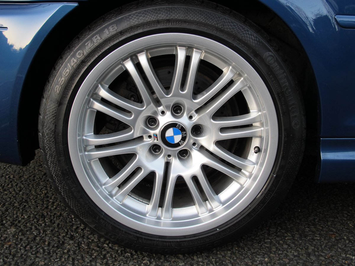 BMW M3 3.2 2002 COUPE 2 OWN 37600 FSH 10 STAMPS 'TOPAZ BLUE' For Sale (picture 6 of 6)
