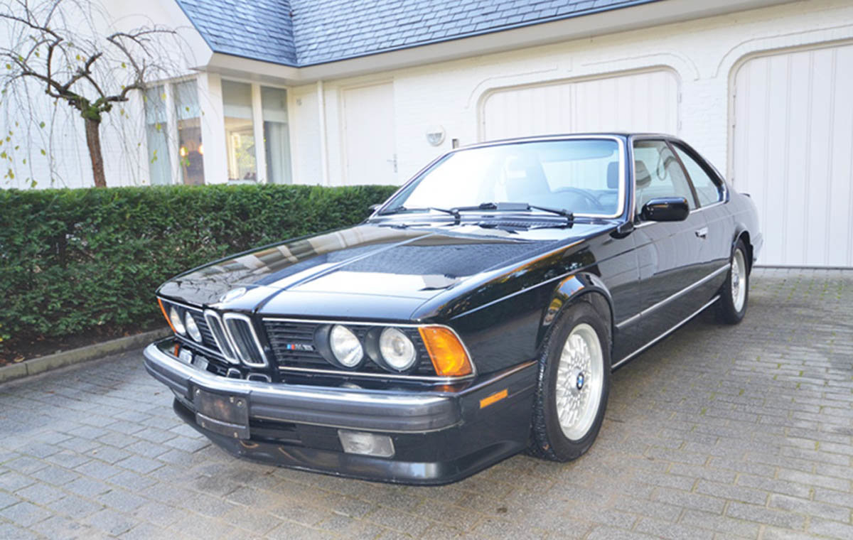 1988 BMW M6 17 Jan 2020 For Sale by Auction (picture 1 of 6)