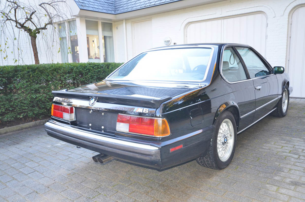 1988 BMW M6 17 Jan 2020 For Sale by Auction (picture 2 of 6)