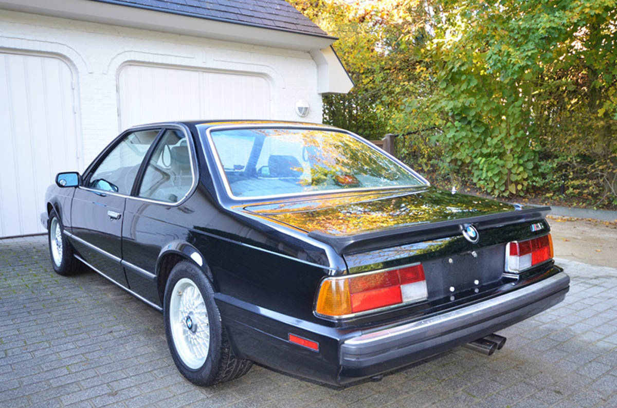 1988 BMW M6 17 Jan 2020 For Sale by Auction (picture 4 of 6)