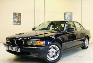 1999 BMW E38 740I - ONLY 58K MILES, STUNNING CONDITION For Sale