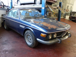 Picture of 1973 Very original BMW E9 Coupé, dark blue metallic, first paint SOLD