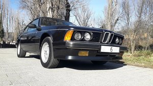 Superb bmw 635 csi manual. Clima, full history!