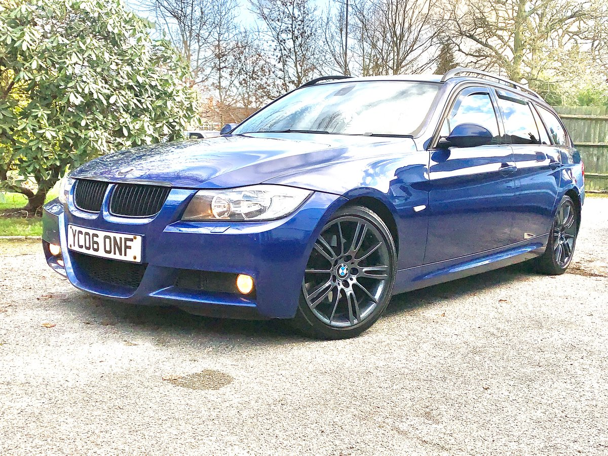 2006 Bmw 330D M sport Touring Le Mans blue For Sale (picture 4 of 6)