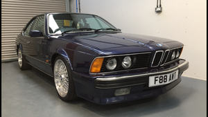 1988 BMW 635 csi Highline Auto FSH mint For Sale