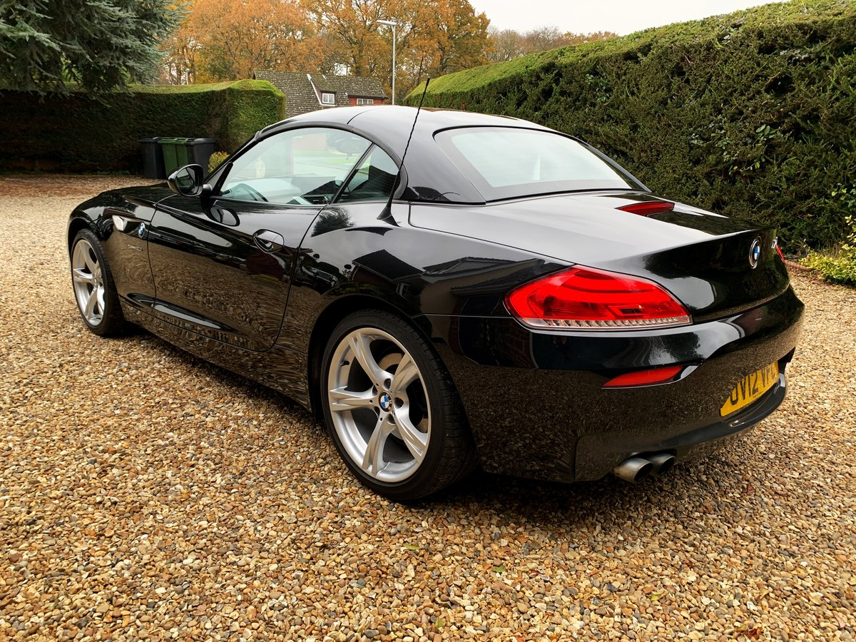 BMW Z4 2.0 sDrive20i M Sport Roadster 2012 Sapphire Black For Sale (picture 3 of 6)