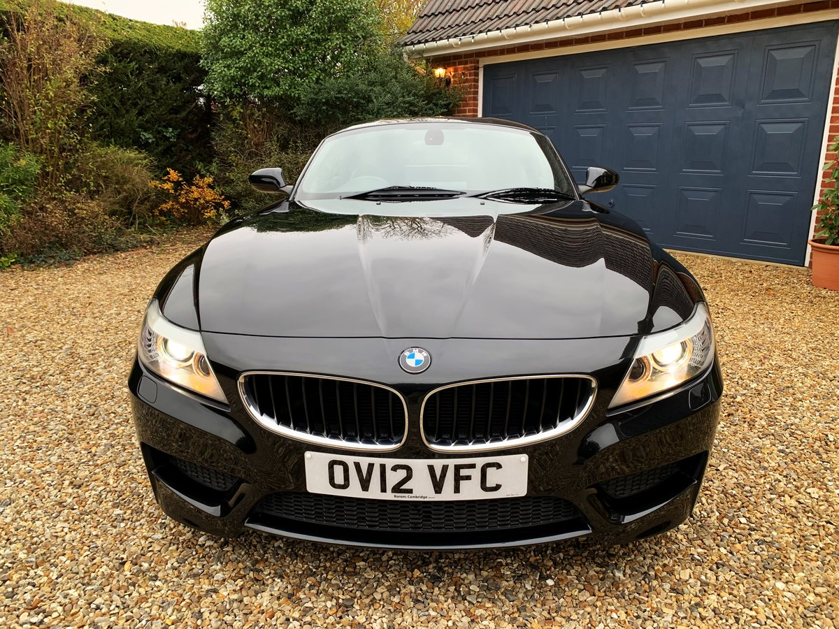 BMW Z4 2.0 sDrive20i M Sport Roadster 2012 Sapphire Black For Sale (picture 4 of 6)