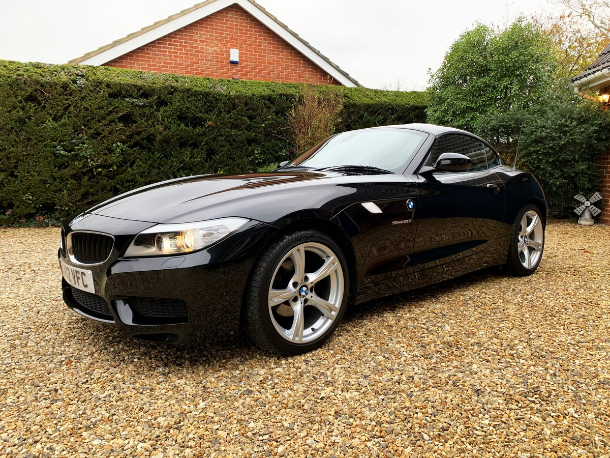 BMW Z4 2.0 sDrive20i M Sport Roadster 2012 Sapphire Black For Sale (picture 5 of 6)