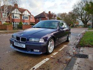 BMW e36 M3 Techno Violet Saloon