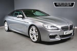 2012 BMW 640d M Sport Convertible