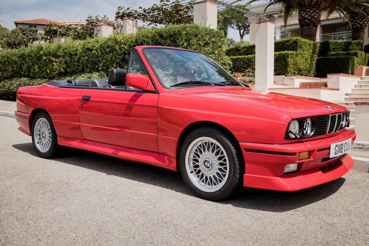 1990 BMW M3 E30 Convertible For Sale (picture 1 of 6)