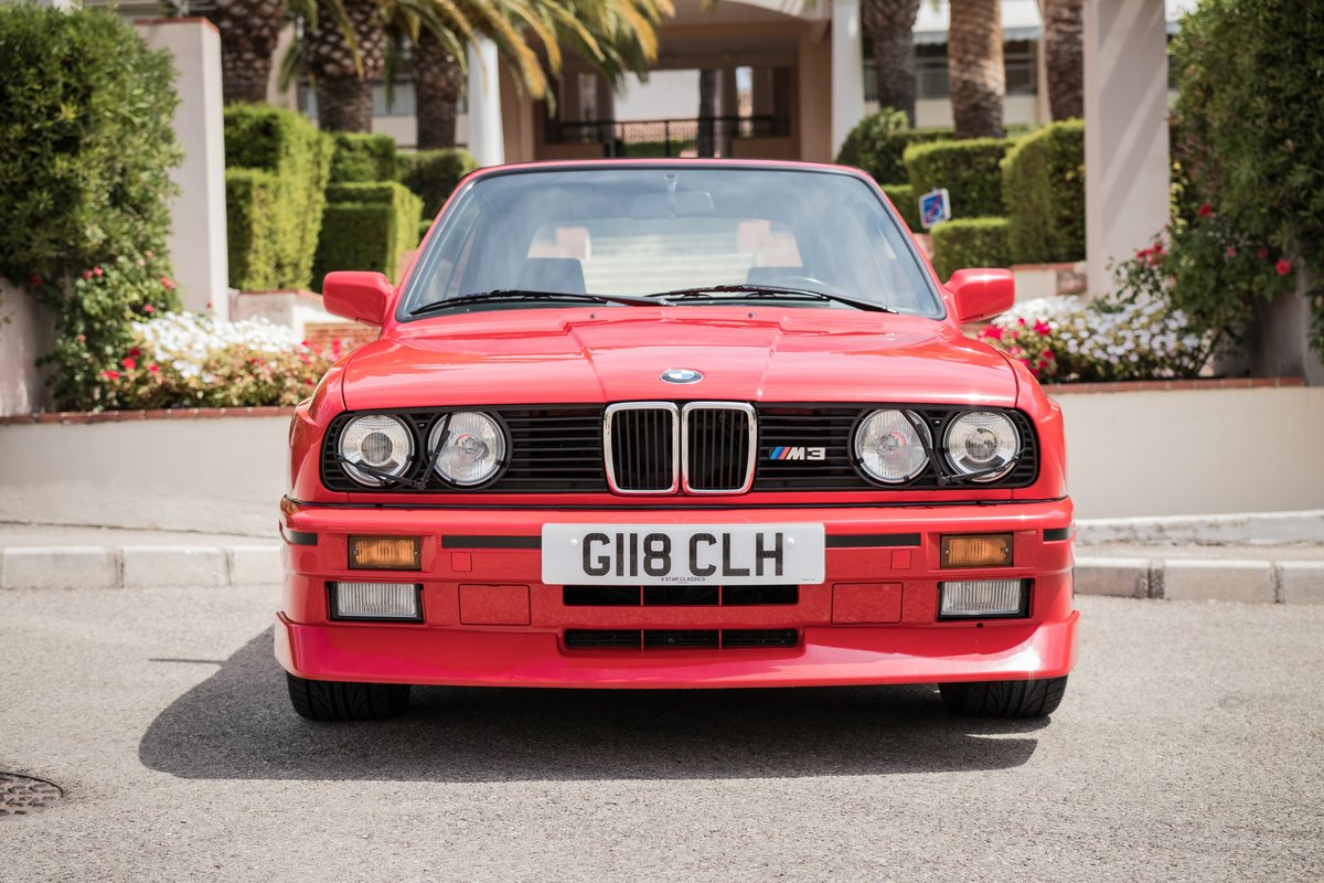 1990 BMW M3 E30 Convertible For Sale (picture 2 of 6)
