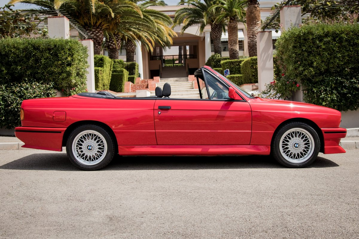 1990 BMW M3 E30 Convertible For Sale (picture 6 of 6)