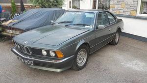BMW 635CSI ( rare RHD manual)