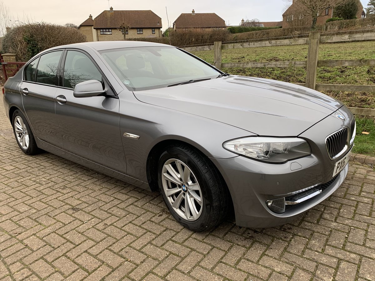 2012 BMW 530D SE with rare manual gearbox For Sale (picture 1 of 6)