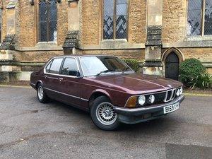 1985 BMW E23 732i For Sale