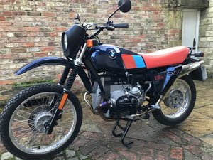 1983 BMW R80 G/S full nut and bolt restoration For Sale