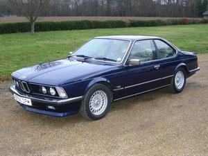 1987 BMW 635 CSi Auto at ACA 25th January