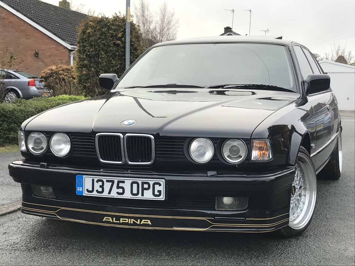 1991 Bmw e32 fully restored schwartz black 2 For Sale (picture 1 of 6)