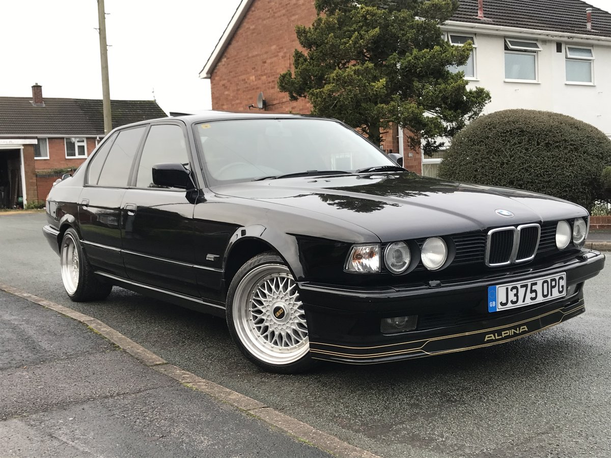 1991 Bmw e32 fully restored schwartz black 2 For Sale (picture 2 of 6)