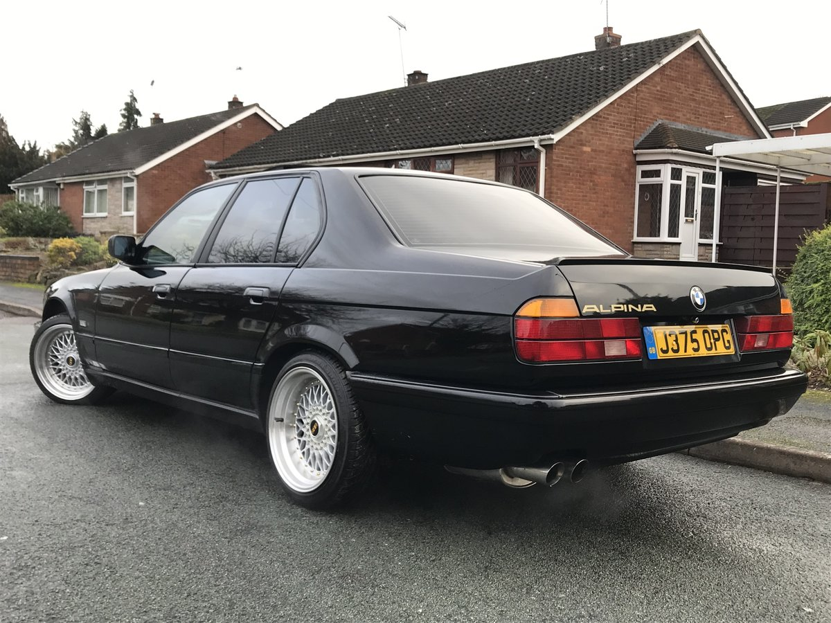 1991 Bmw e32 fully restored schwartz black 2 For Sale (picture 3 of 6)