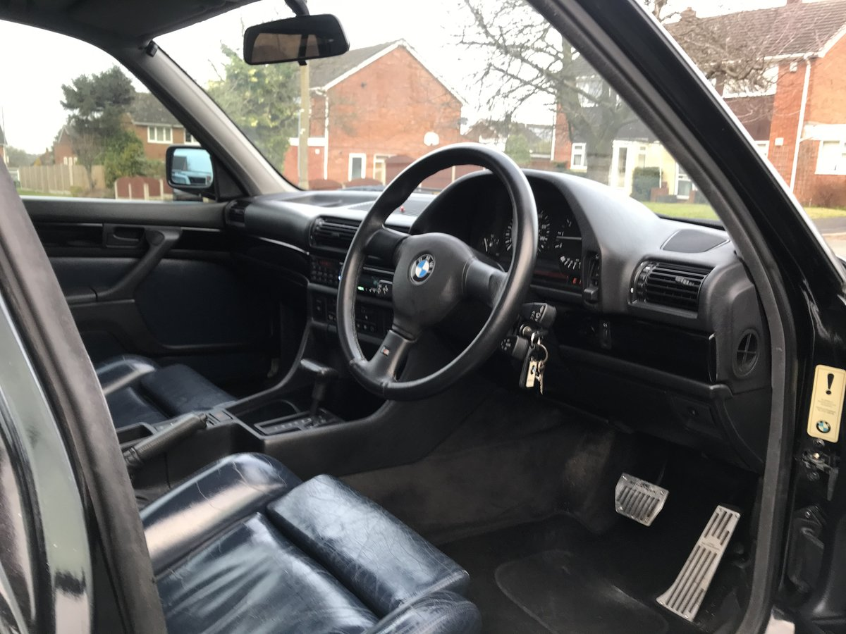 1991 Bmw e32 fully restored schwartz black 2 For Sale (picture 4 of 6)
