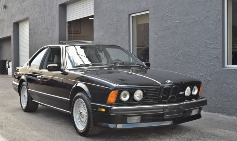 1988 BMW M6 E24 Coupe Sunroof Hot(~)Seats AC 5-spd $39.9k For Sale (picture 1 of 6)