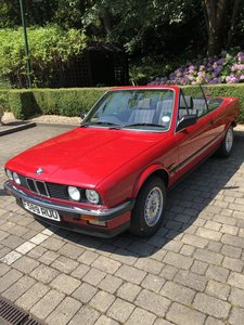 1989 BMW Convertible Automatic