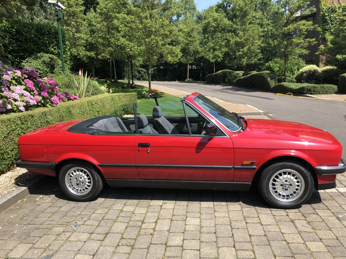 1989 BMW Convertible Automatic SOLD (picture 2 of 6)