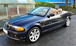 2000 BMW 323I Ci E46 CONVERTIBLE SOFT TOP WITH ONLY 64,250 MILES
