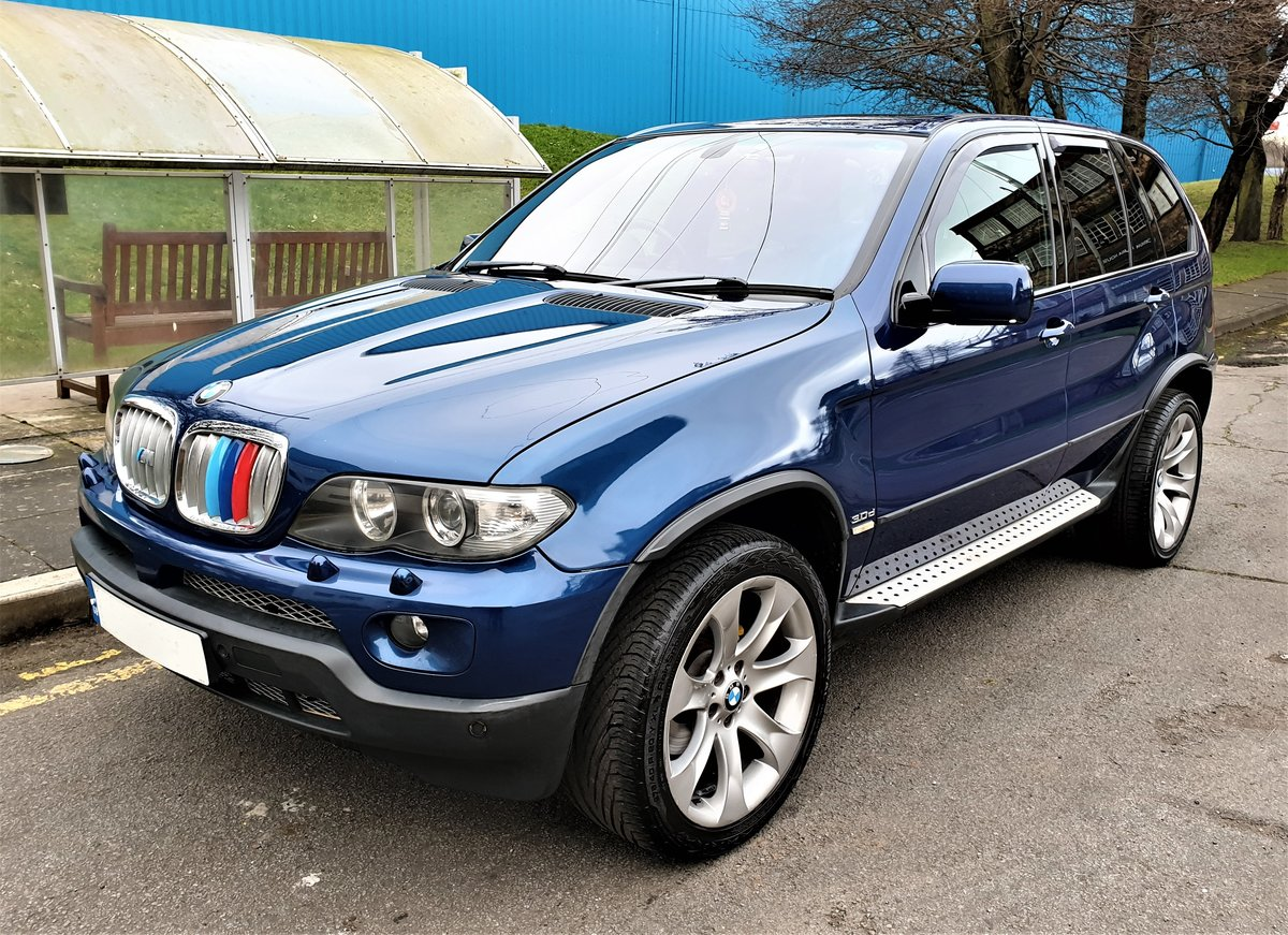 2006 BMW X5 3.0D SPORT EDITION, SAT/NAV, SPORT LEATHER, ONLY 130K For Sale (picture 1 of 6)