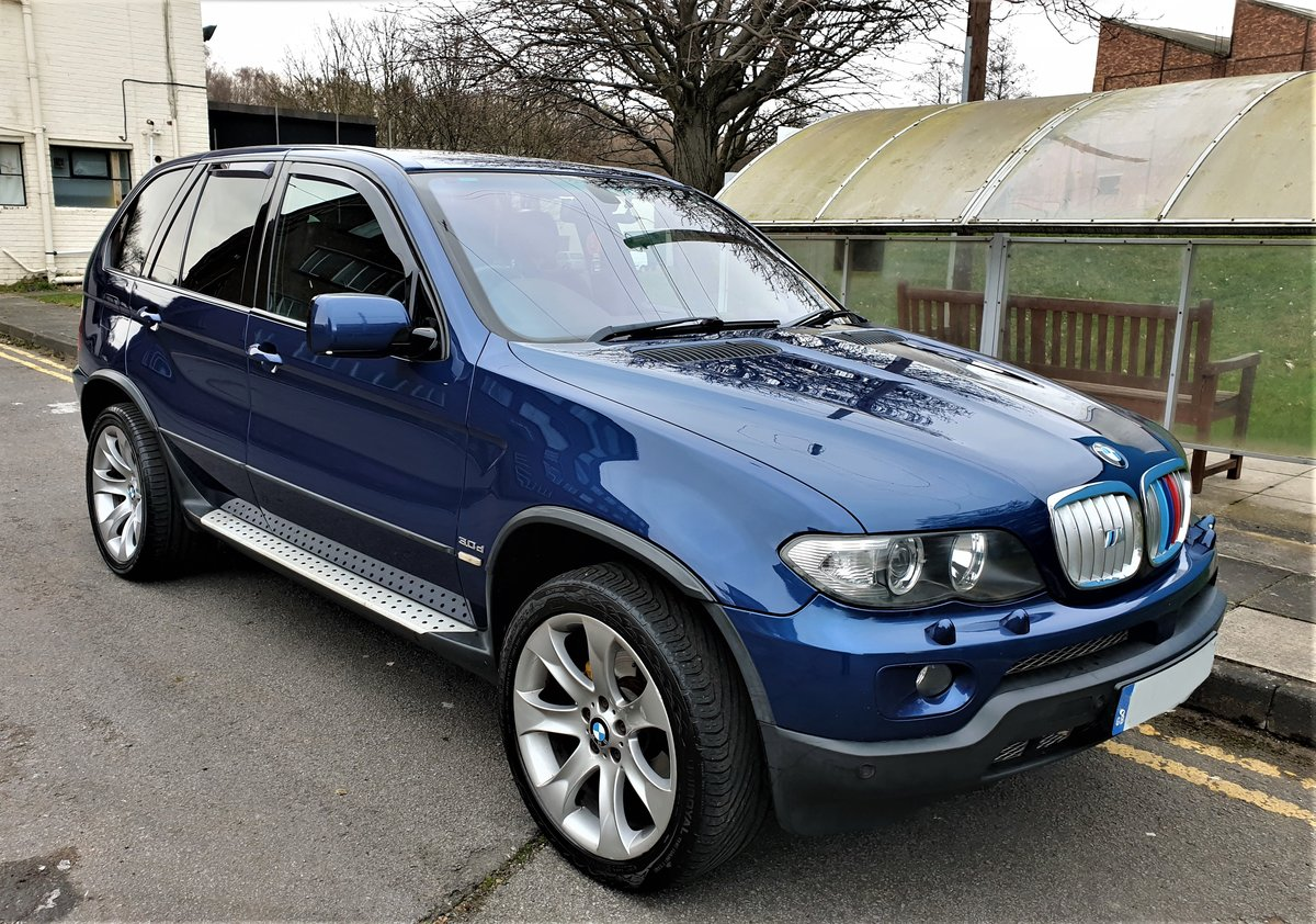 2006 BMW X5 3.0D SPORT EDITION, SAT/NAV, SPORT LEATHER, ONLY 130K For Sale (picture 2 of 6)
