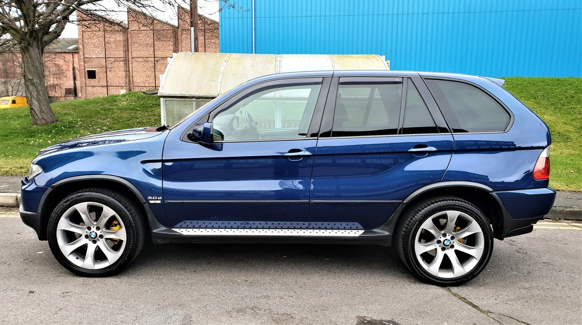 2006 BMW X5 3.0D SPORT EDITION, SAT/NAV, SPORT LEATHER, ONLY 130K For Sale (picture 3 of 6)
