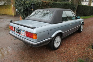 1990 BMW 320i Automatic Convertible E30 With S/History File & MoT
