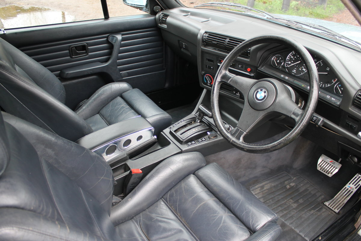 1990 BMW 320i Automatic Convertible E30 With S/History File & MoT SOLD (picture 5 of 6)