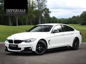 BMW  4 SERIES  420D M SPORT GRAN COUPE WITH M PERFORMANCE LO
