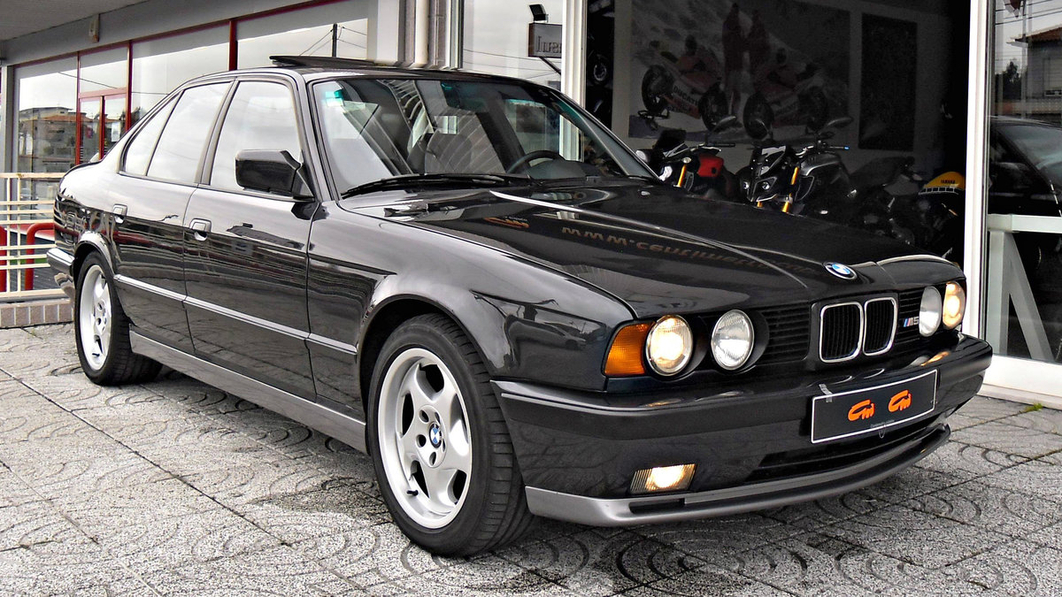 1990 BMW M5 E34 3.6 For Sale (picture 1 of 6)