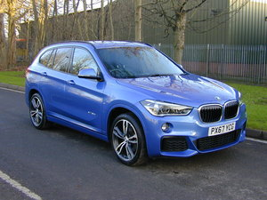 2017 BMW X1 XDRIVE 2.0D M SPORT AUTOMATIC - BIG SPEC - LOW MILES! For Sale