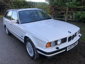1993 BMW 525ix touring manual 4x4 525i x e34