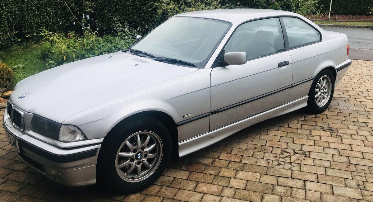 1998 318iS E36 Coupe Titan Silver For Sale (picture 1 of 6)