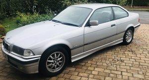 1998 318iS E36 Coupe Titan Silver For Sale