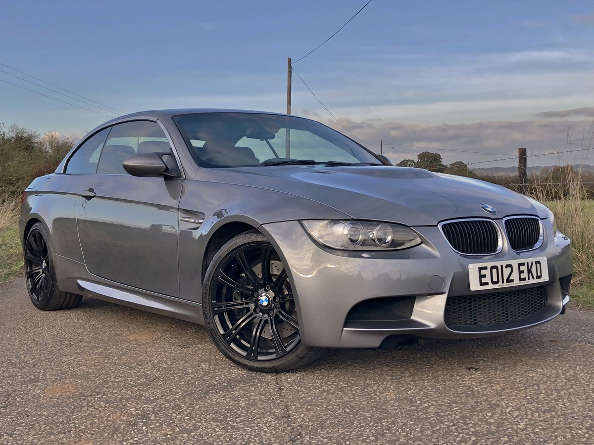 2012 BMW M3 4.0 V8 DCT CONVERTIBLE For Sale (picture 1 of 6)