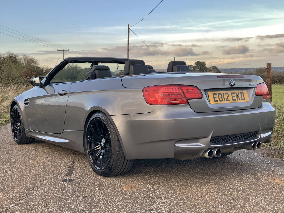 2012 BMW M3 4.0 V8 DCT CONVERTIBLE For Sale (picture 2 of 6)