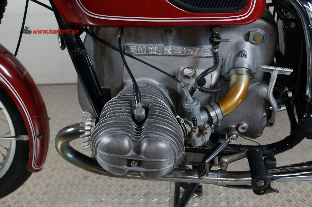 1973 BMW R 60/5, 595 cc, 39 hp For Sale (picture 4 of 6)