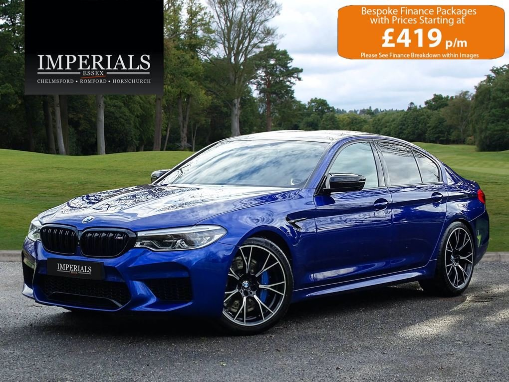 2019 BMW  M5  COMPETITION PACK SALOON AUTO  63,948 For Sale (picture 1 of 24)
