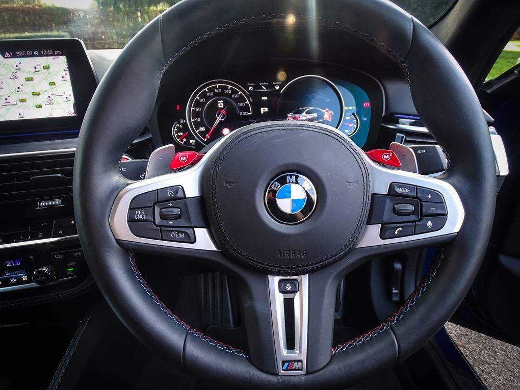 2019 BMW  M5  COMPETITION PACK SALOON AUTO  63,948 For Sale (picture 7 of 24)