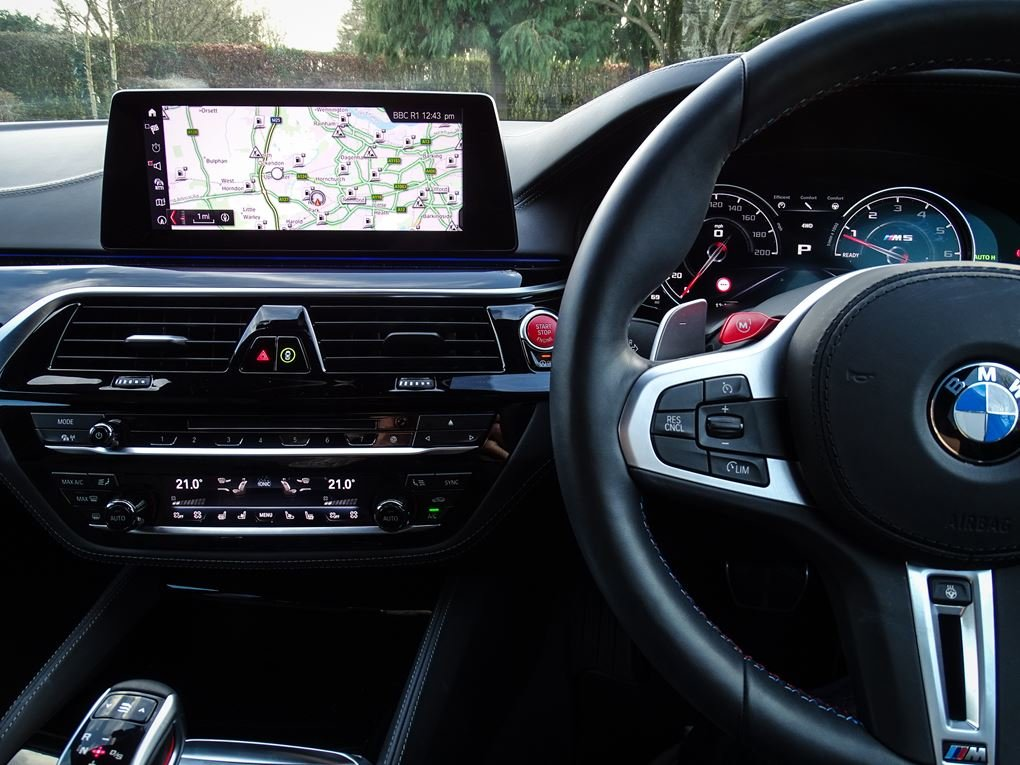 2019 BMW  M5  COMPETITION PACK SALOON AUTO  63,948 For Sale (picture 8 of 24)