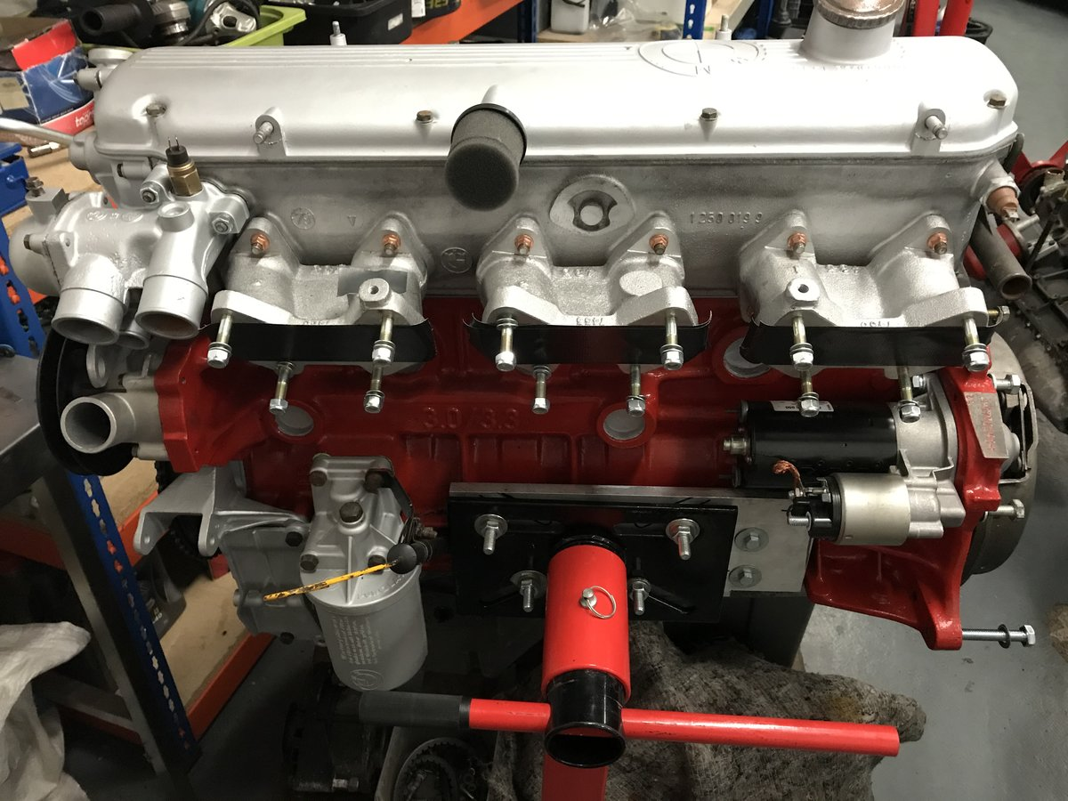 1974 M30 B32 high performance engine rebuilt to 3246cc For ...