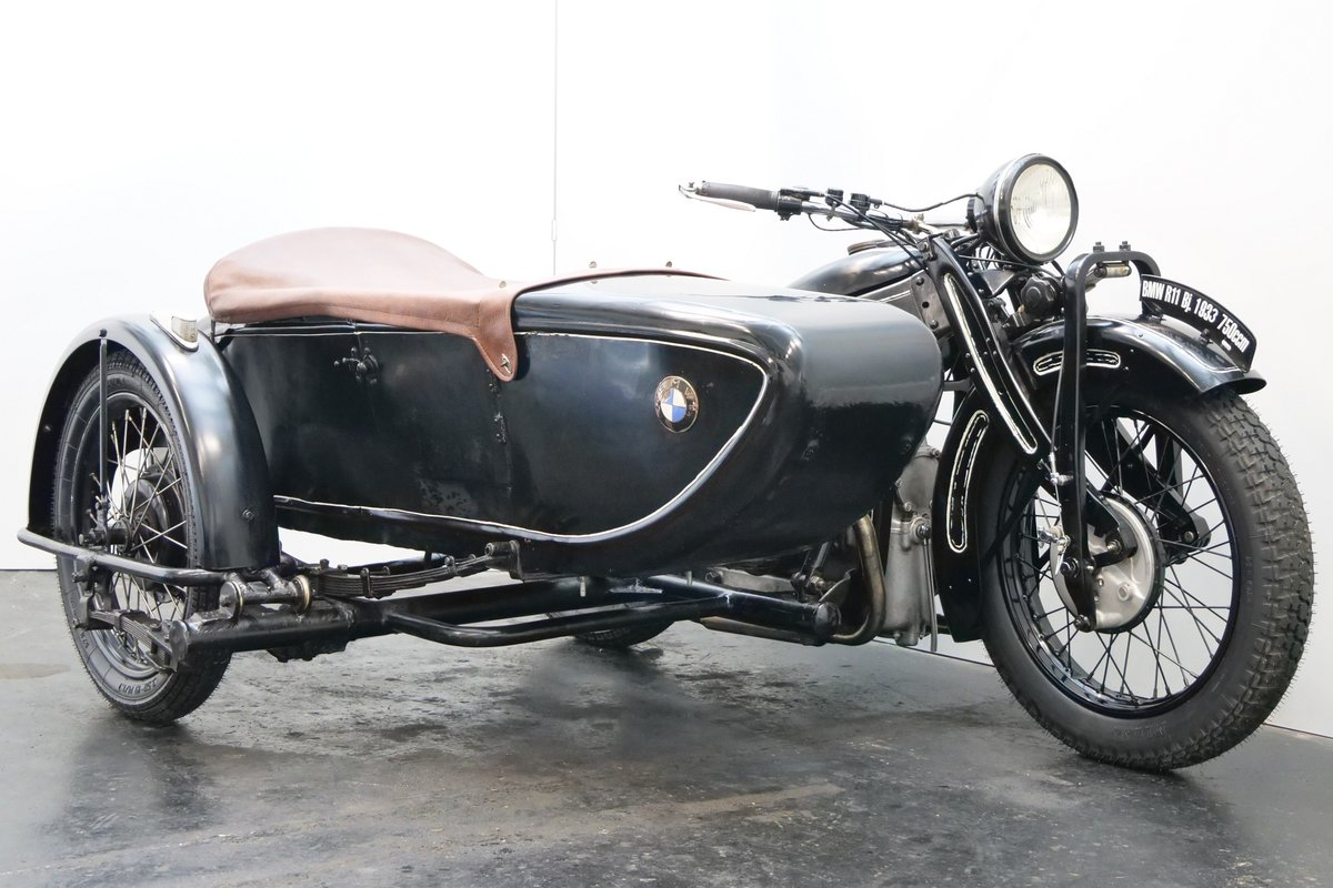 BMW R11 Combination 1933 750cc 2 cyl sv For Sale (picture 1 of 6)