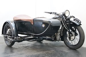 Picture of BMW R11 Combination 1933 750cc 2 cyl sv
